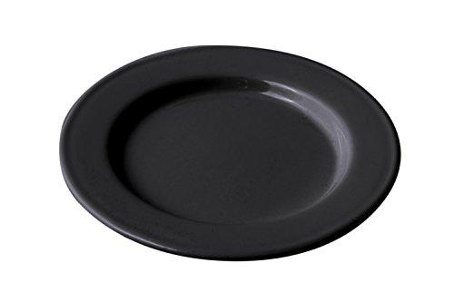 - Bon Chef 1022BLK Aluminum Rimmed Dinner Plate, Black (Pack of 4)