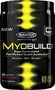 MuscleTech MyoBuild - 40 Super-concentré de raisin doses -