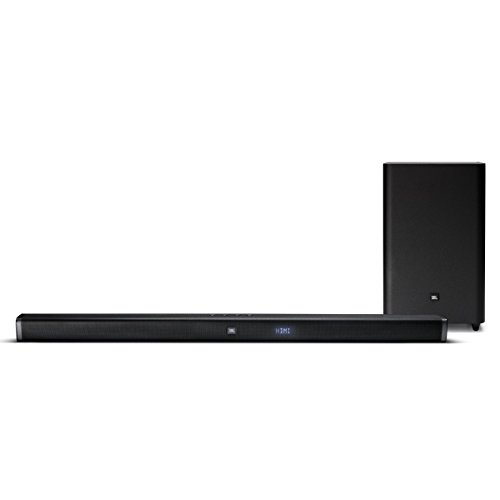 Jbl Surround Sound System - JBL Bar 2.1 Home Theater Starter System with Soundbar and Wireless Subwoofer with Bluetooth