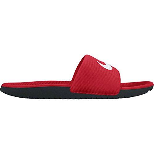 Nike Mens Kawa Slide Athletic Sandal Universitet Röd / Vit Svart