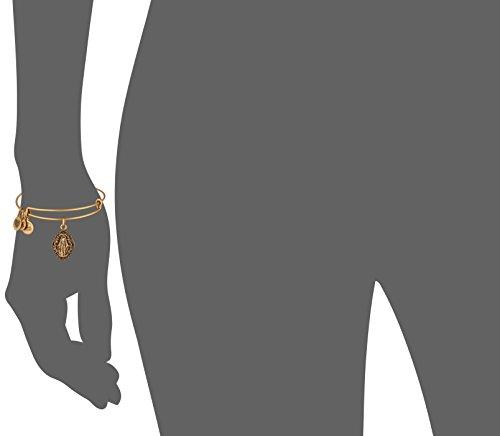 Alex and Ani Mother Mary III EWB Rafaelian Gold Bangle Bracelet by Alex and Ani (Image #3)