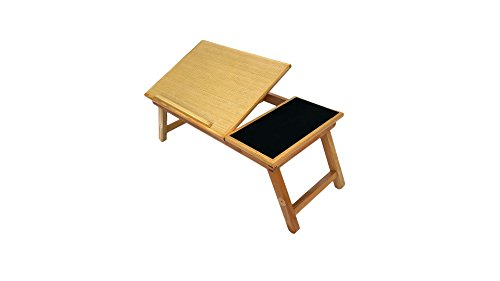 od Laptop Bed Tray Multiuse Laptop Table Desk W/built-in Mouse Pad Supports up to 18.4