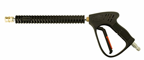 Erie Tools 5000 PSI 8 GPM Pressure Washer Gun and 12'' Wand, 300°F Hot Water Grade with Trigger Lock 3/8'' QD Plug x 1/4'' NPT by Erie Outdoor Power Equipment
