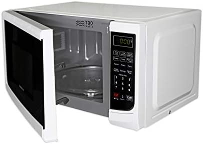 Farberware Classic FMO07ABTWHA 0.7 Cu. Ft 700-Watt Microwave Oven With LED Lighting, White