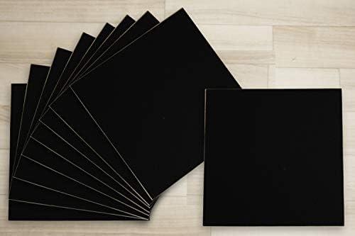 【ずれない吸着マット】 薄型 洗える タイルマット irotile-514 CL-514 ブラック (Y) 約29.5cm×29.5cm 同色 9枚入り 約3mm厚 吸着 ズレない すべり止め付き マット タイルカーペット はさみでカットOK 手洗いOK 黒 black 吸着タイル