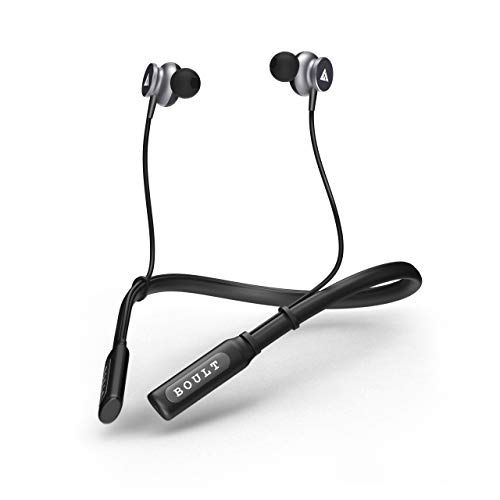 Boult Audio ProBass Curve in-Ear Earphones with 12H Battery Life & Extra Bass, in-Built Mic, IPX5 Water Resistant Neckband(Black)