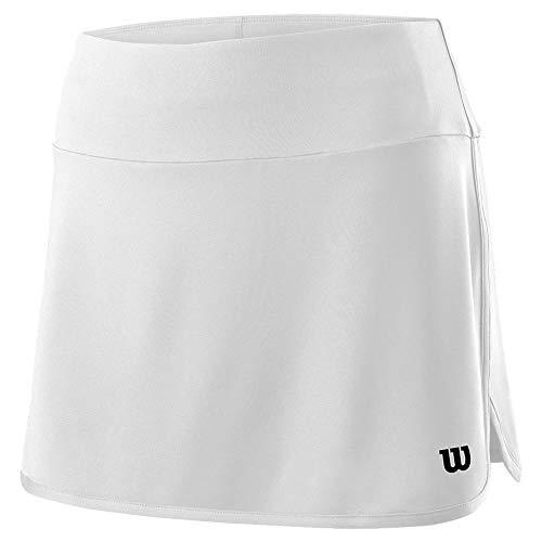 (Wilson Women`s Team 12.5 Inch Tennis Skort White (X-Small))