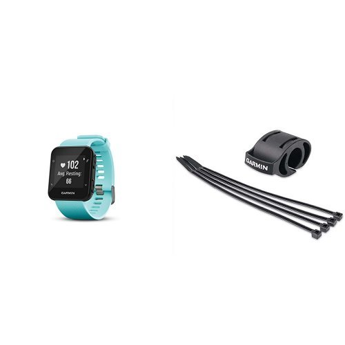 Amazon.com: Garmin Forerunner 35 Watch and HRM-Tri Heart Rate Monitor, Frost Blue and Premium Heart Rate Monitor (Soft Strap): Cell Phones & Accessories