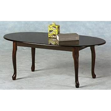 Ideal Furniture Queen Anne Coffee Table Mahogany Oak 105x52x39 Cm