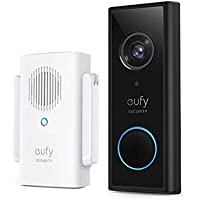eufy Security, Draadloze videodeurbel (op batterij) met 2K HD, geen maandelijkse kosten, geïntegreerde AI voor…