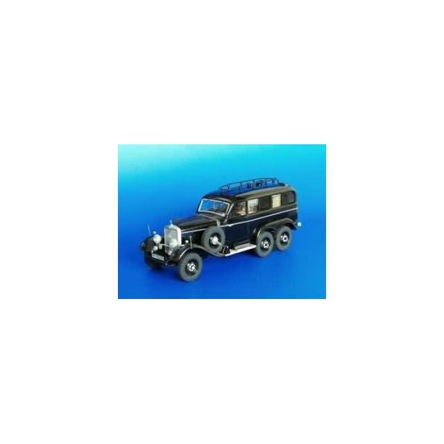 Plusmodel 135 Mercedes G4   Radio Car Model Kit Toys & Games