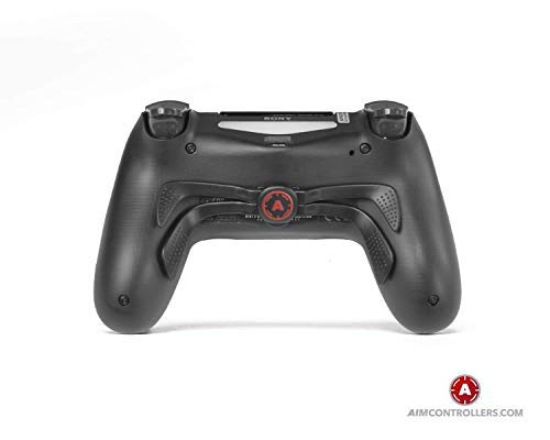 AimControllers PS4 Custom Wireless Controller, Playstation 4 Personalized Gamepad with 4 Paddles and Smart Triggers- War 3
