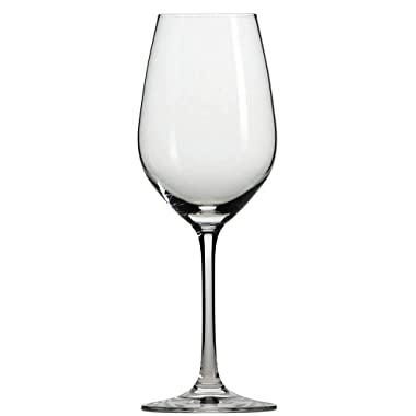 Schott Zwiesel Tritan Crystal Glass Forte Stemware Collection White Wine/Sweeter White Wine Glass, 9.4-Ounce, Set of 6