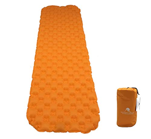 Premium Ultralight Inflatable Camping Sleeping Pad - Padded