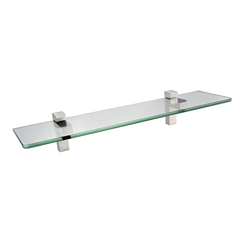 KES BGS3201-2 Lavatory Bathroom Corner Tempered Glass Shelf