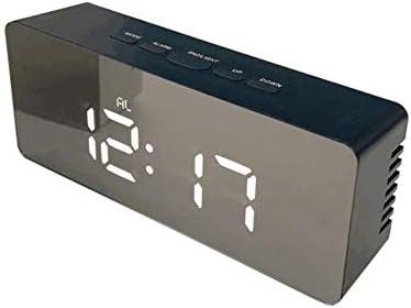UHRKS 12H / 24H Reloj Despertador con Pantalla Digital Espejo, LED ...