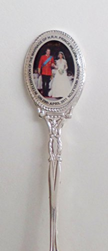 Royal Wedding William & Kate's Special Day Silver-Plated Collector's Spoon