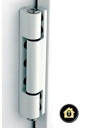 White uPVC Door Angled Butt Hinge - 115mm Hinge - Double Glazed Door Hinge Amazon.co.uk DIY \u0026 Tools  sc 1 st  Amazon UK & White uPVC Door Angled Butt Hinge - 115mm Hinge - Double Glazed ...