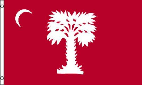USA Premium Store Citadel Big Red Flag 3x5 South Carolina Civil War Palmetto Charleston Ft - Stores Citadel