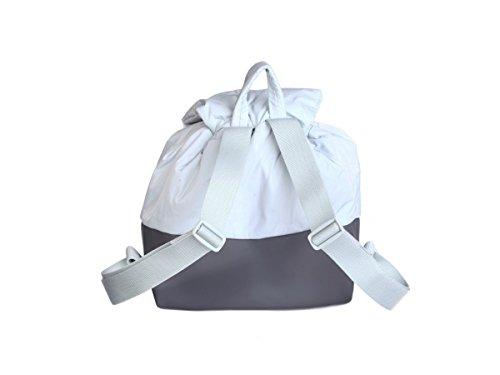 Gris Mujer Bolso De Material Hombro Sintético Para Duck Mandarina Cm Al 37x35x15 Tq8wCPqx