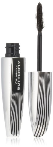 L'Oréal Paris Voluminous Butterfly Lengthening Washable Mascara, Black, 0.22 fl. oz. (Mascara Effect Butterfly)
