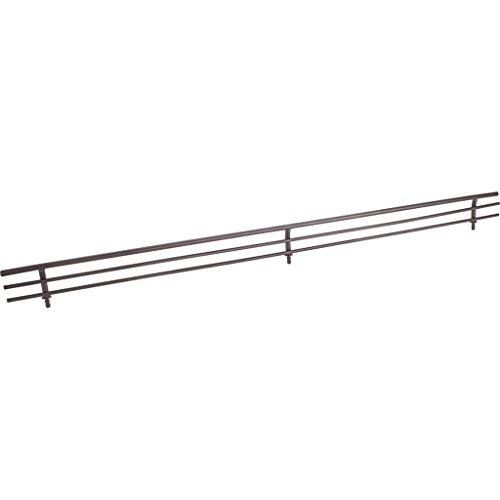 Hardware Resources SF17-ORB Wire Shoe Shelf Fence, Dark Bronze