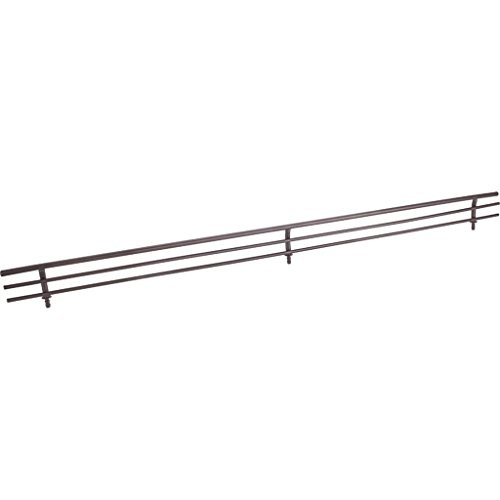 Hardware Resources SF29-ORB Wire Shoe Shelf Fence, Dark Bronze by Hardware Resources