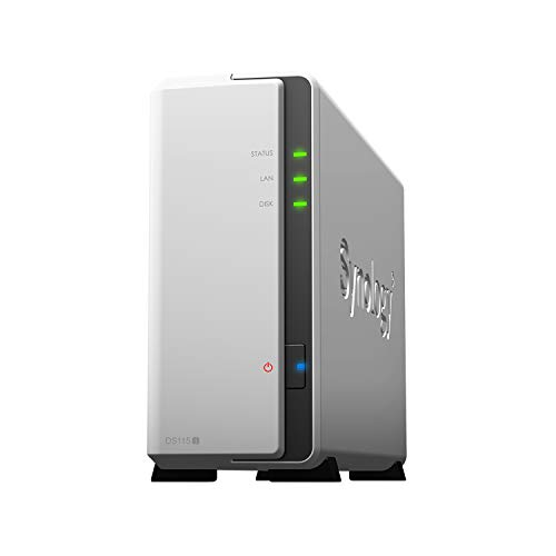 Synology 1 bay NAS DiskStation DS115j (Diskless)