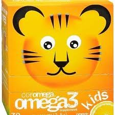 Coromega Omega 3 enfants orange squeeze - 30 sachets