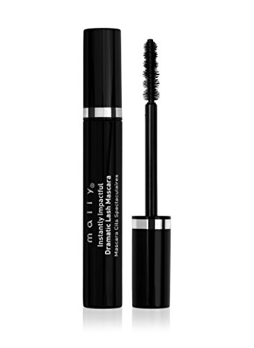 Mally Beauty – Instantly Impactful Mascara – Infused with Avocado Oil & Vitamin B5 to Condition and Nourish Lashes – Jet Black, 3-D Finish – 0.31 Ounce – MY.2102 ()