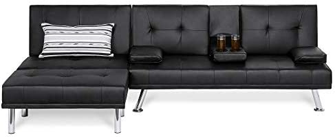 Best Choice Products Faux Leather Upholstery...