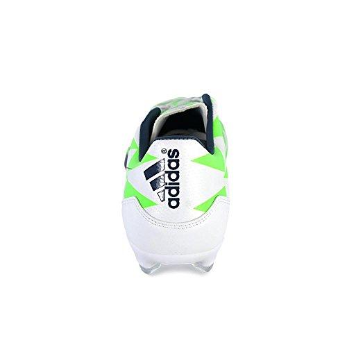 Verde Adidas Performance F10 zapatos de fútbol Fg, 7,5 D (m) con nosotros, Core Blanco / Azul rica blanco, azul y verde