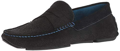 Donald J Pliner Men's VARRAN-EW Driving Style Loafer Black 9 D US