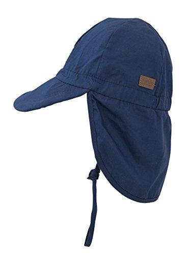 Melton Sommerhut mit Krempe UV 30+, uni - Gorro Hombre Blau (Marine 285)