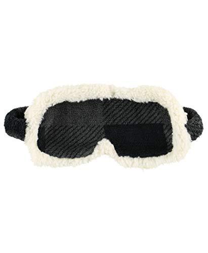 Grey Buffalo Check Soft Womens Sleep Masks by LazyOne | Fun Animal Sleepmasks for Travel, Home, Camping Use (ONE Size) ()