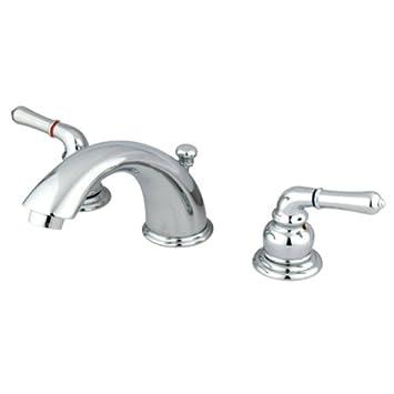 Kingston Brass Kb961 Magellan Ii Widespread Lavatory Faucet 8 Inch