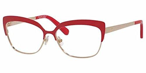 30ba5e40b5 Eyeglasses Kate Spade Nea 0CU6 Cherry Red at Amazon Men s Clothing ...