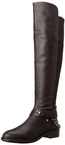 Dolce Vita Women's Sanders Riding Boot,Black Leather,7.5 ...