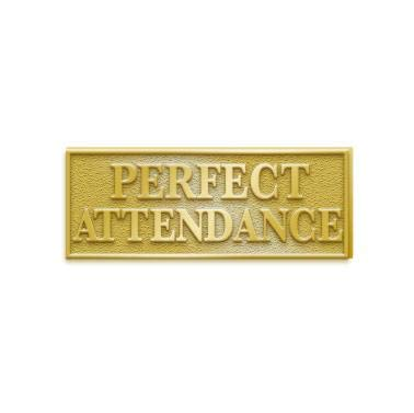 Perfect Attendance Pins - 1