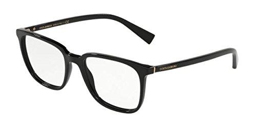 Dolce & Gabbana Occhiali da Vista LESS IS CHIC DG 3298 BLACK uomo zBFTUy6