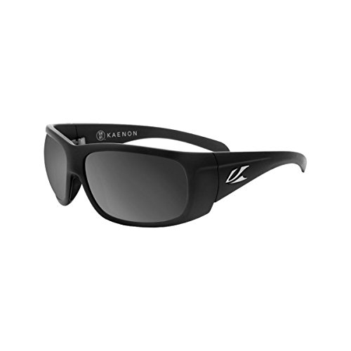 Kaenon Polarized Cliff Sunglasses - Black Label Frame - Gray G12 Black Mirror Lens