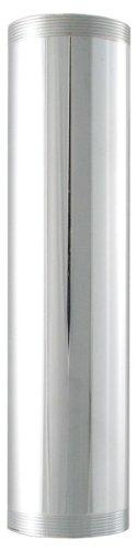 LDR 505 6220 1-1/2-Inch x 6-Inch Threaded Tube, Chrome Plated (Chrome Extension Tube)