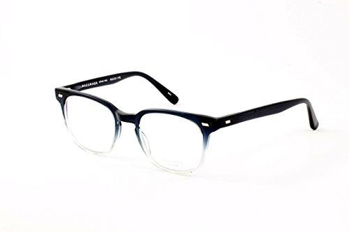 Masunaga Unisex Designer Eyeglasses Model 056 45, Bl-Clear, Size - Masunaga Eyewear