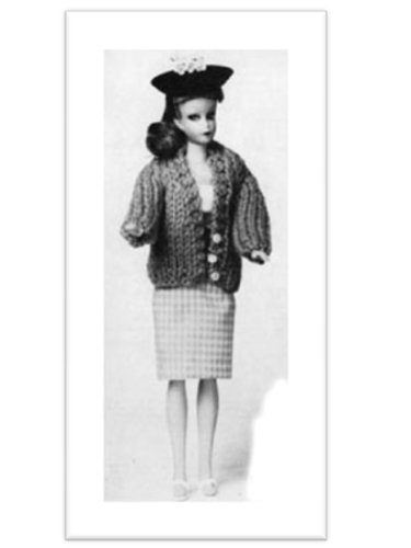 EATER VINTAGE KNITTING PATTERN (Barbie Vintage Sweater)