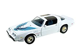 1979 Pontiac Firebird Trans Am White 1/18 by Road Signature 92378