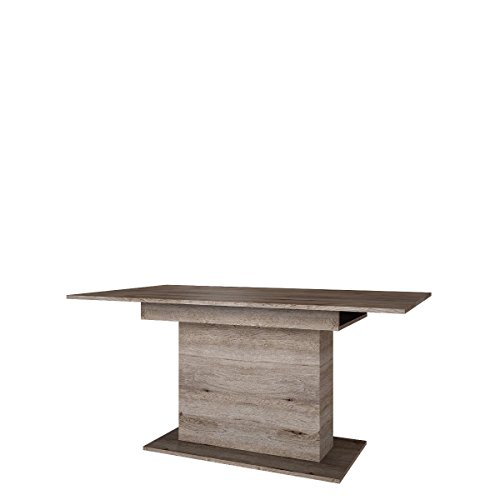 Dining Table With Extantion Sonoma Rectangular Pedestal Dining Table