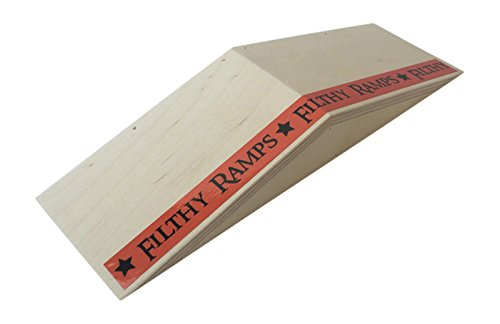 Filthy Fingerboard Ramps Mini Wedgie Fun Box from by Filthy Fingerboard Ramps