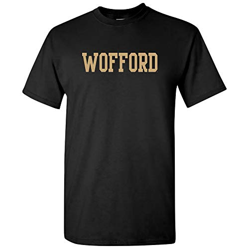 (AS01 - Wofford Terriers Basic Block T-Shirt - Small - Black)