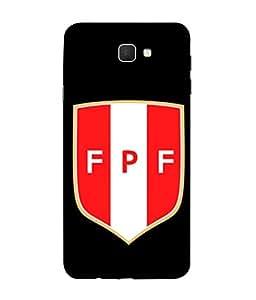 ColorKing Football Peru 08 Black shell case cover for Samsung J5 Prime