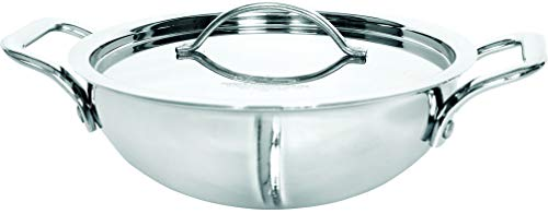 CLASSIC-STEELS-Premium-TRIPLY-Stainless-Steel-KADHAI-24CM-2500-ML-Induction-Bottom-COOKWARE